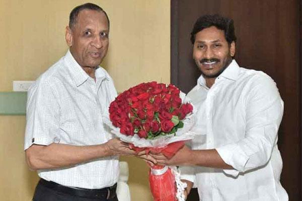 Jagan complains to Governor Narasimhan in Hyderabad