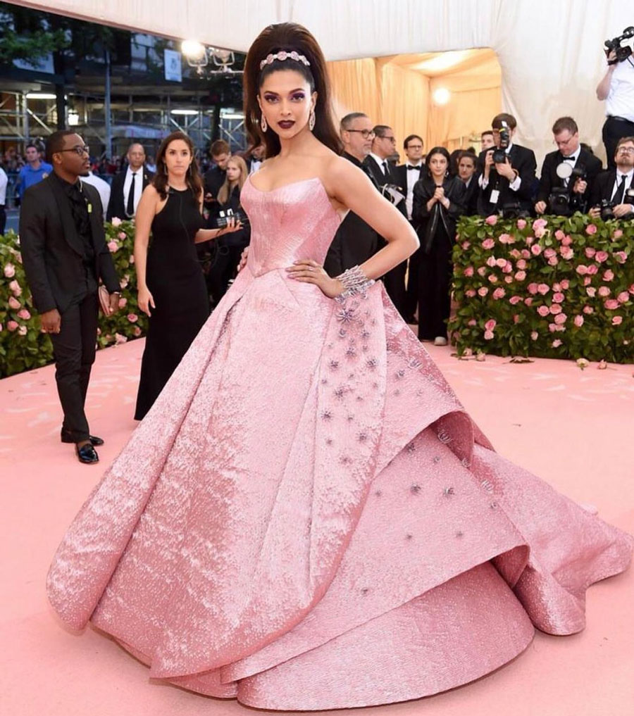 Gorgeous Deepika at Met Gala 2019 Event