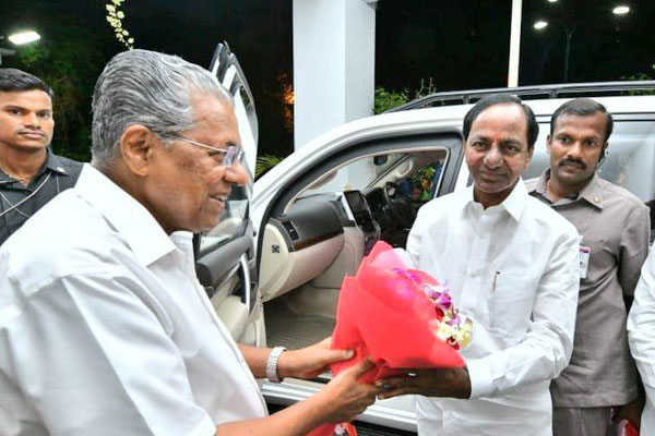 Professor Nageshwar : KCR meets Kerala CM: Federal Front Again in Spotlight