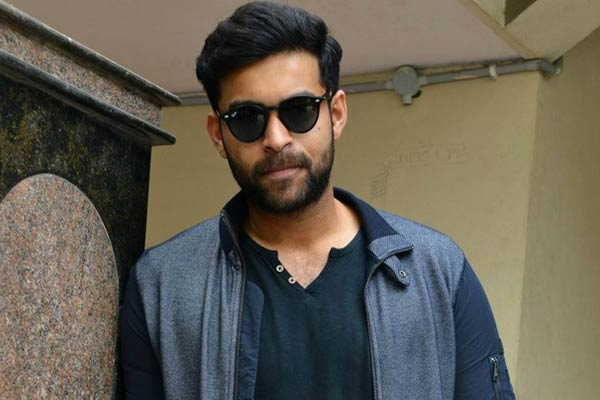 Varun Tej doubles his remunerationVarun Tej doubles his remuneration