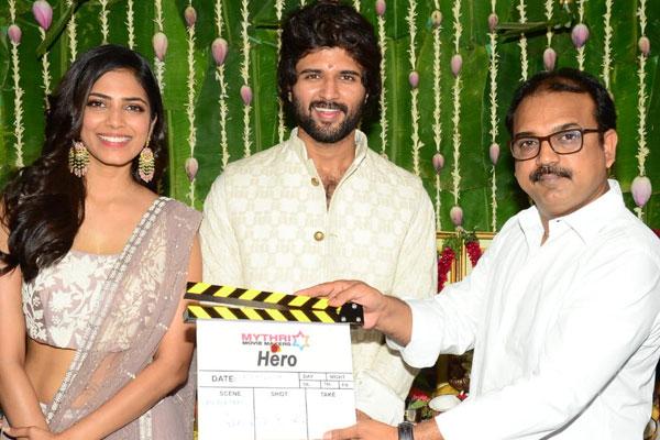 Vijay Devarakonda's Hero Launched