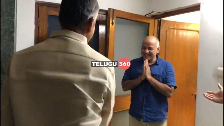 Video: Chandrababu Naidu Meets Delhi CM Arvind Kejriwal