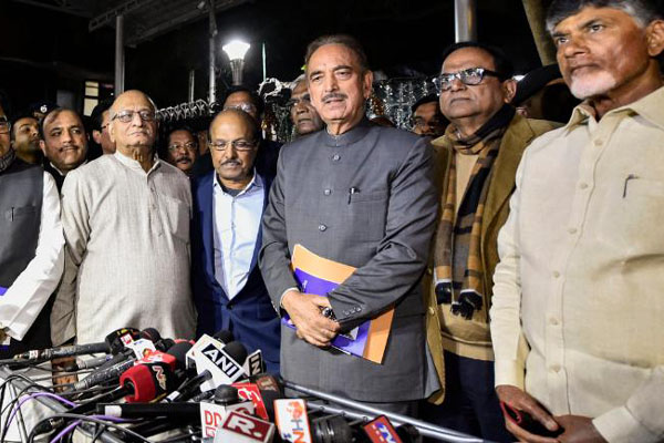 EC meeting Wednesday on opposition's concern on EVMs: Congress