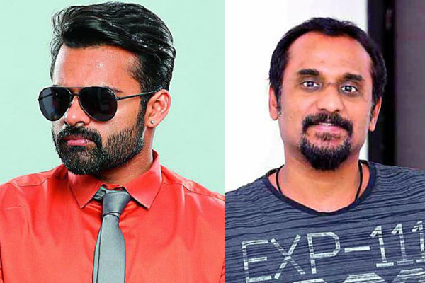 Sai Dharam Tej to team up with critically acclaimed filmmaker