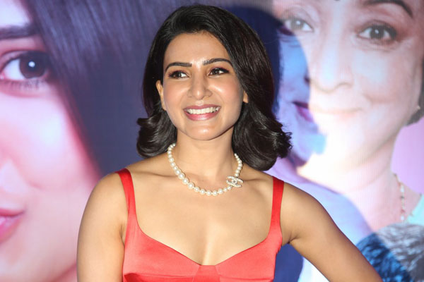 Samantha At Oh Baby Pre-Release Event