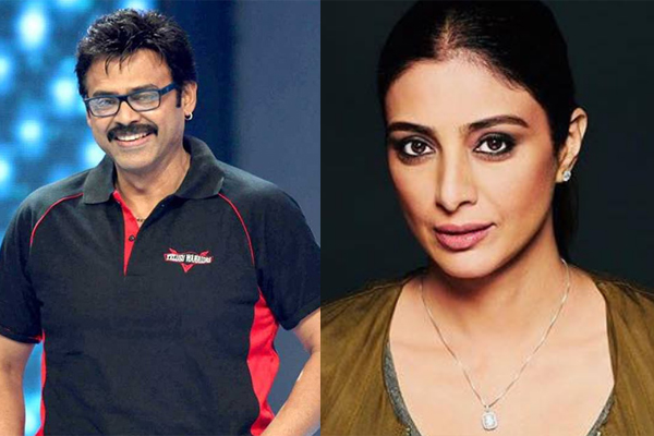 Tabu and Venkatesh to unite after two decades