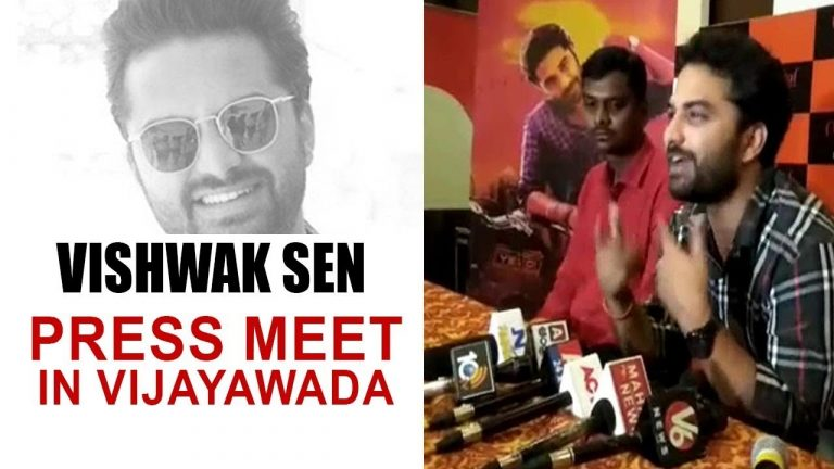 Video: Hero Vishwak Sen Press Meet In Vijayawada