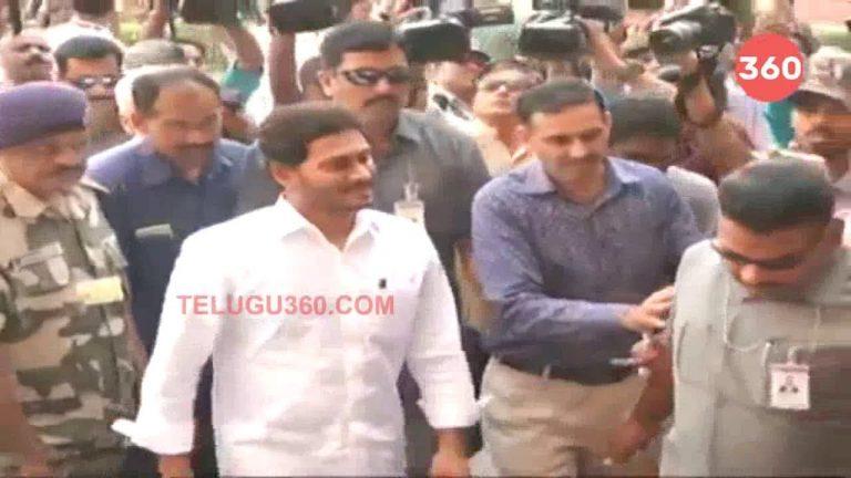 Video: YS Jagan Meets Amit Shah In New Delhi