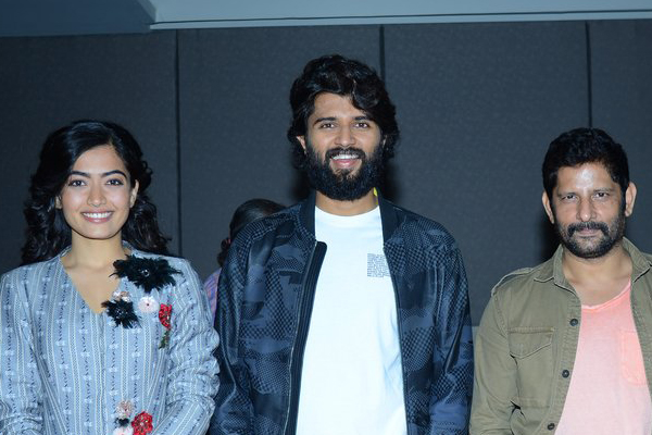 Dear Comrade Press Meet In Vizag