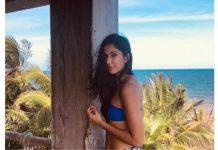 Katrina scorches in swimwear on Mexico beach
