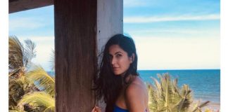 Katrina scorches in swimwear on Mexico beach