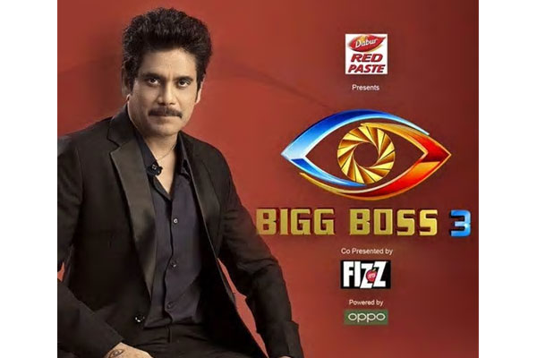 Bigg Boss3 participant list& Nagarjuna's extreme ease at hosting the show