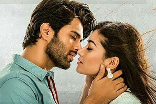 Vijay Devarakonda responds about Kissing his heroines