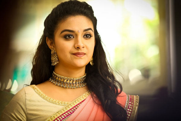 Megastar votes for Keerthy Suresh