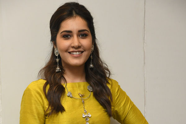 Raashi Khanna excited to shoot in sync-sound set-up for 'Thank You'