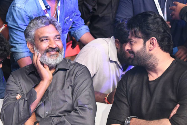 Rajamouli about working with Prabhas again