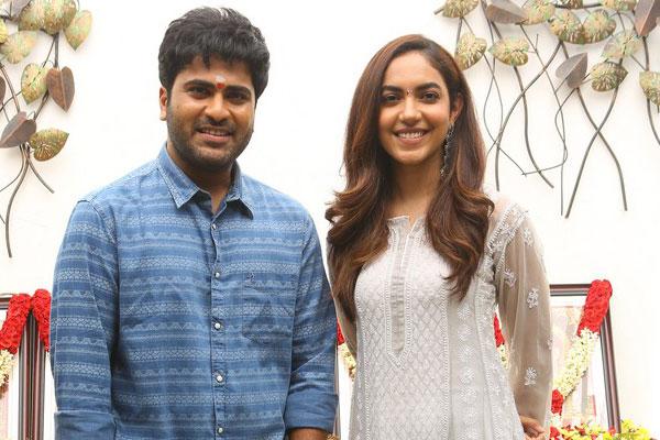 Sharwanand & Ritu Varma Movie Launch