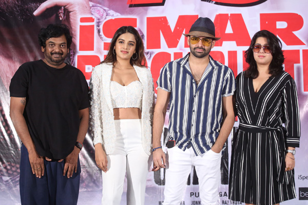 Ismart Shankar Press Meet