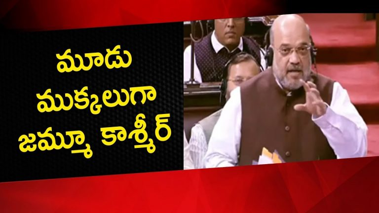 Video: Amit Shah Moves Proposal To Remove All Provisions of Article 370