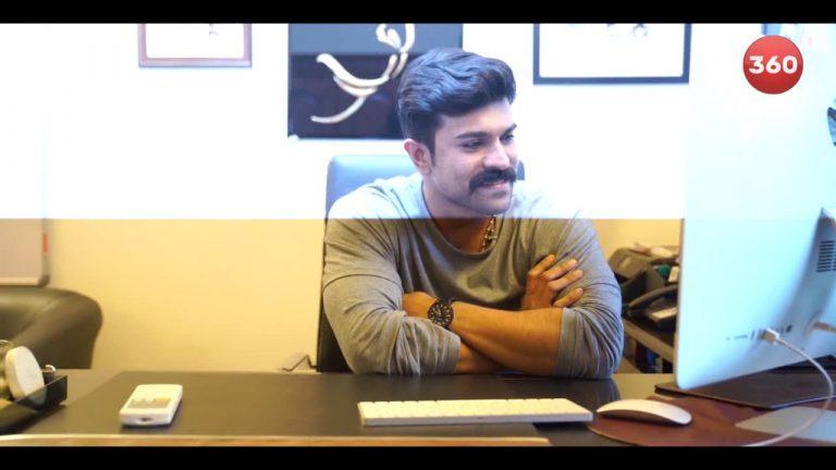 Video: Ram Charan Launches Ranarangam Sound Cut Trailer
