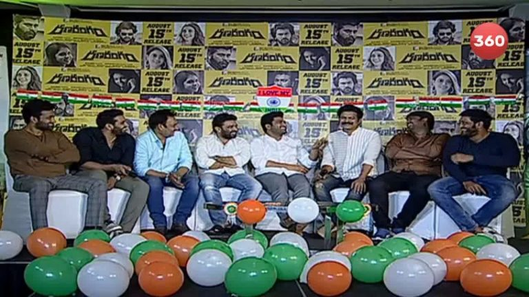 Video: Ranarangam Team Funny Interview