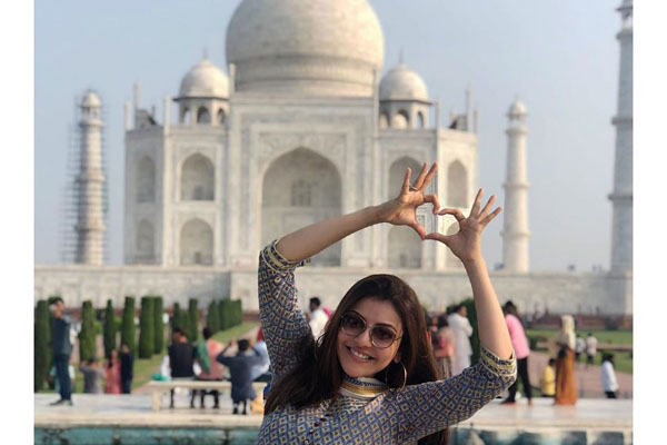 Kajal Aggarwal visits Taj Mahal for the first time