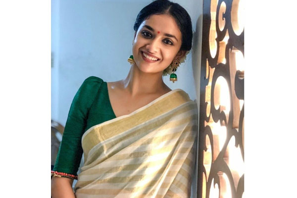 Keerthy Suresh tightlipped about Vedhalam Remake