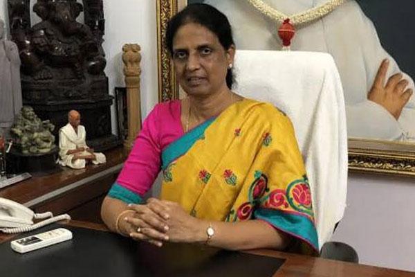 Sabitha Indra Reddy thinks lockdown is bad idea
