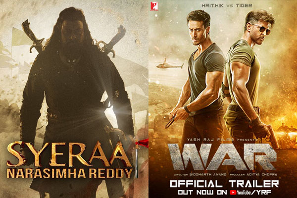 'Sye Raa' rated better than 'War' in Bollywood circuit