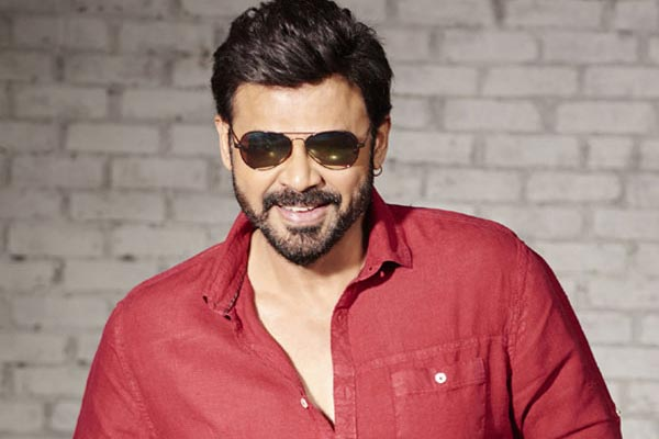Venky's satire on Suresh Babu and Venky Mama
