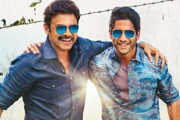 Venky Mama is Average on Tuesday – 5 days AP/TS Collections