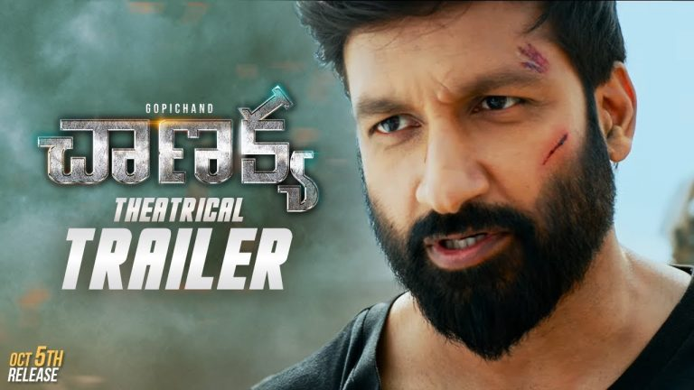 Chanakya Trailer: Gopichand back into Action