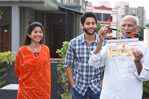 Naga Chaitanya & Sai Pallavi movie started