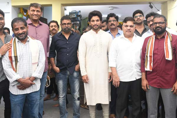 Mythri Movie Makers left worried with Allu Arjun's proposal