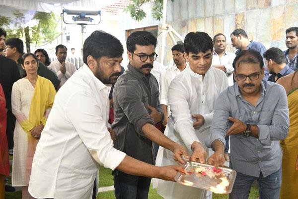 Chiru – Koratala Siva Movie Launch