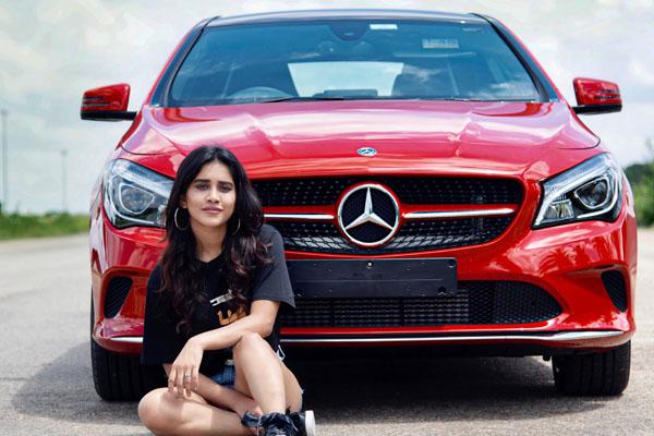 Nabha Natesh buys Mercedes Benz car
