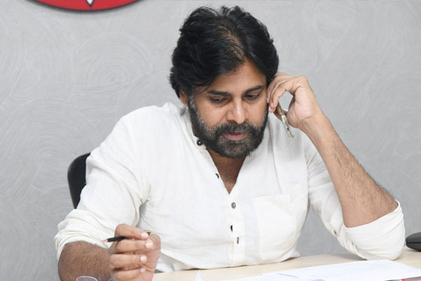 Pawan's efforts to unite political parties on the sand issue in AP
