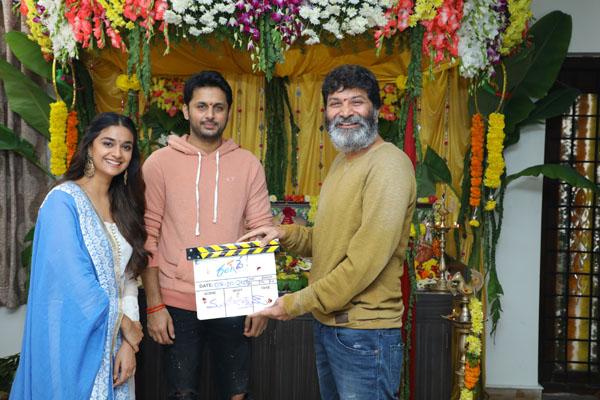 Nithiin's 'Rang De' Movie Launch