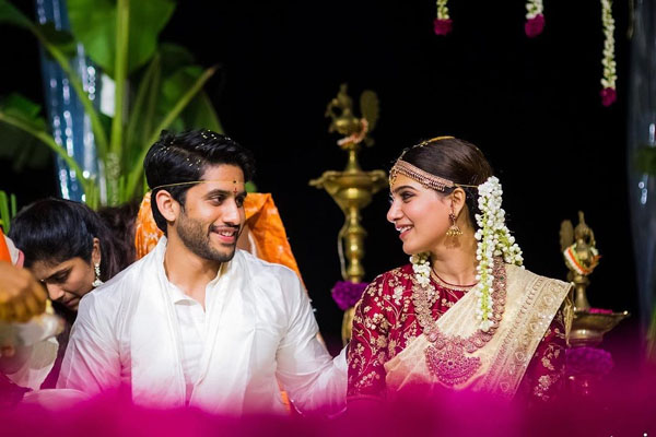 Samantha, Naga Chaitanya celebrate second wedding anniversary