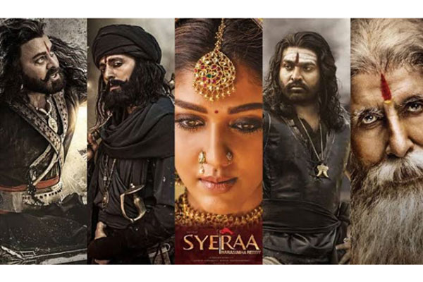 Syeraa Narasimha Reddy holds well on Second Day – 2 days AP/TS Collections