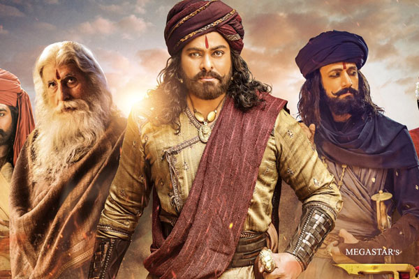 Syeraa Narasimha Reddy Worldwide Pre-Release Business : Third Highest for any Tollywood Film