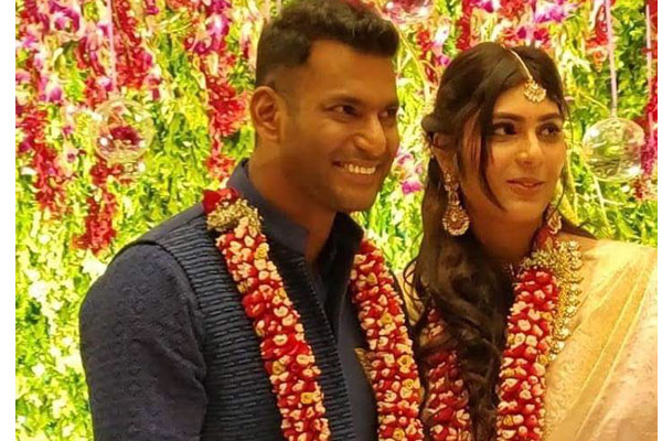 Vishal's wedding with Anisha Reddy not called off?