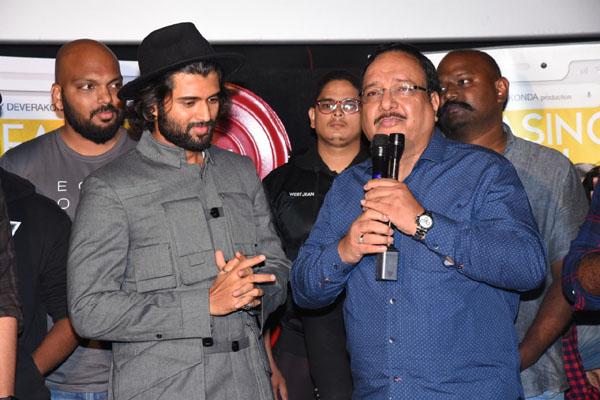 "Vijay Deverakonda's 200 fans launched ""Nuvve Hero"" Promotional Music video From Meeku Maathrame Cheptha"