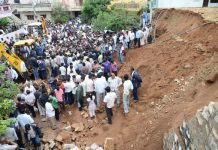4 killed in wall collapse during wedding in Hyderabad