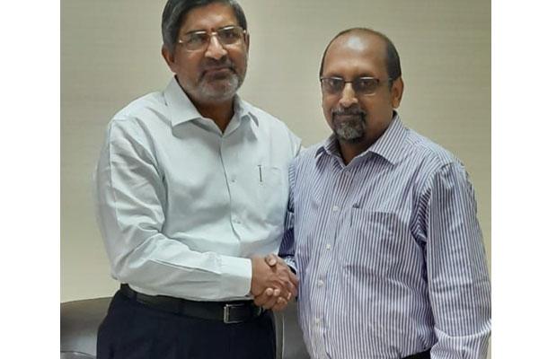 LV Subrahmanyam hands over charge to Neerabh Kumar