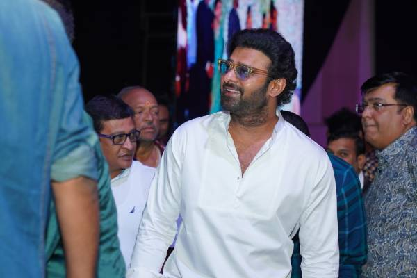 Is this Prabhas's look for the new movie?