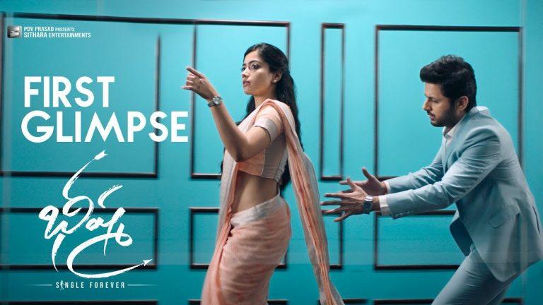 Bheeshma First Glimpse: Nithiin's Romantic Satire