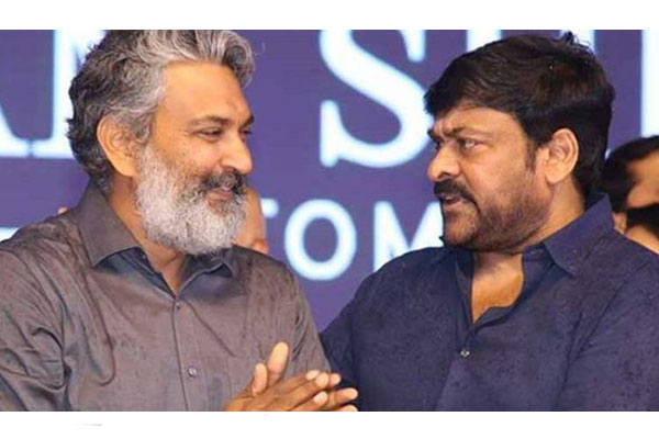 A recent conversation between Megastar and Rajamouli