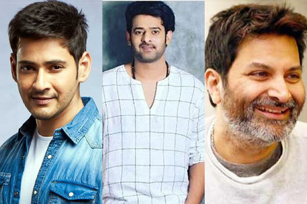 Prabhas, Mahesh and Trivikram in Forbes India Celebrity List