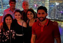 Naga Chaitanya and Samantha holidaying in Singapore